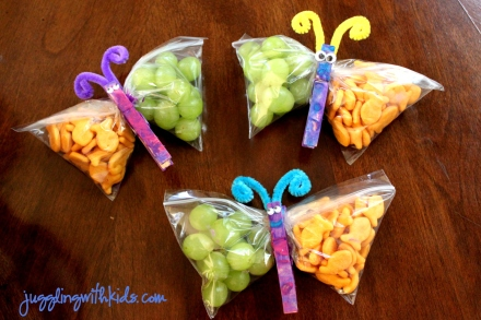 butterfly snacks 2