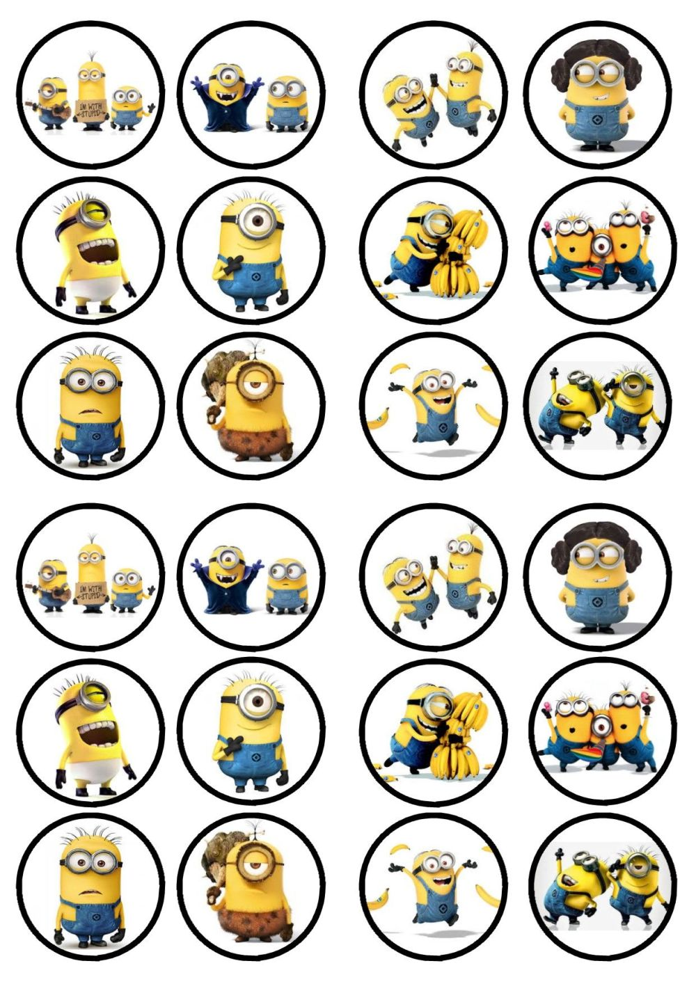 new-minions-movie-precut-edible-premium-wafer-paper-cupcake-toppers-1563-p