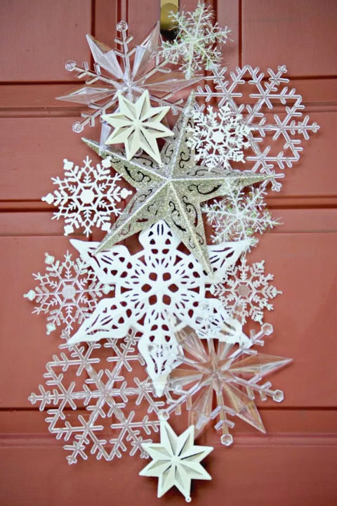 snowflake-door-hanger