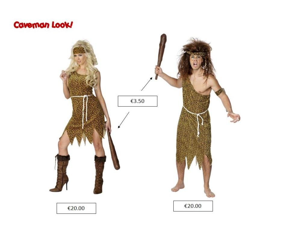 caveman look